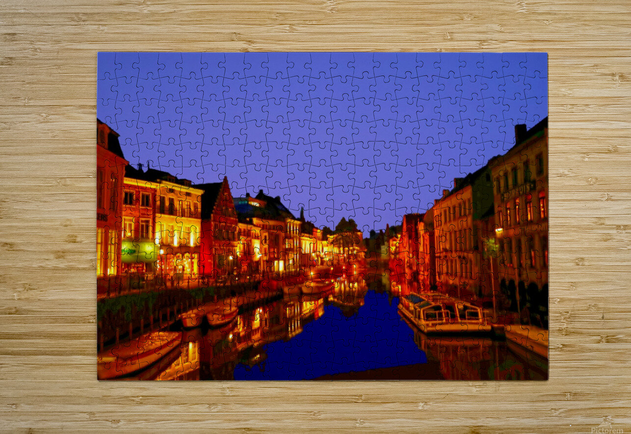 Beautiful Belgium 6 of 7  HD Metal print with Floating Frame on Back