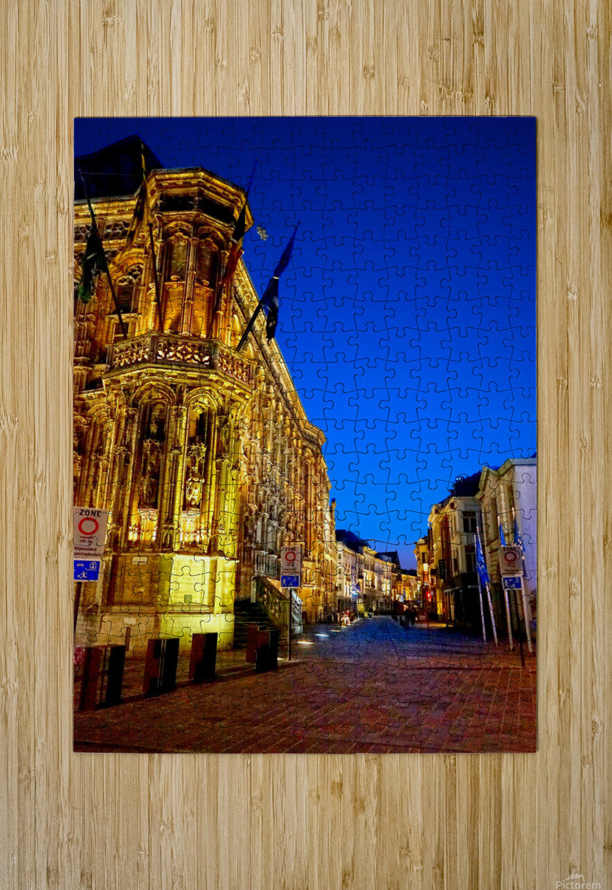 Beautiful Belgium 3 of 7  HD Metal print with Floating Frame on Back