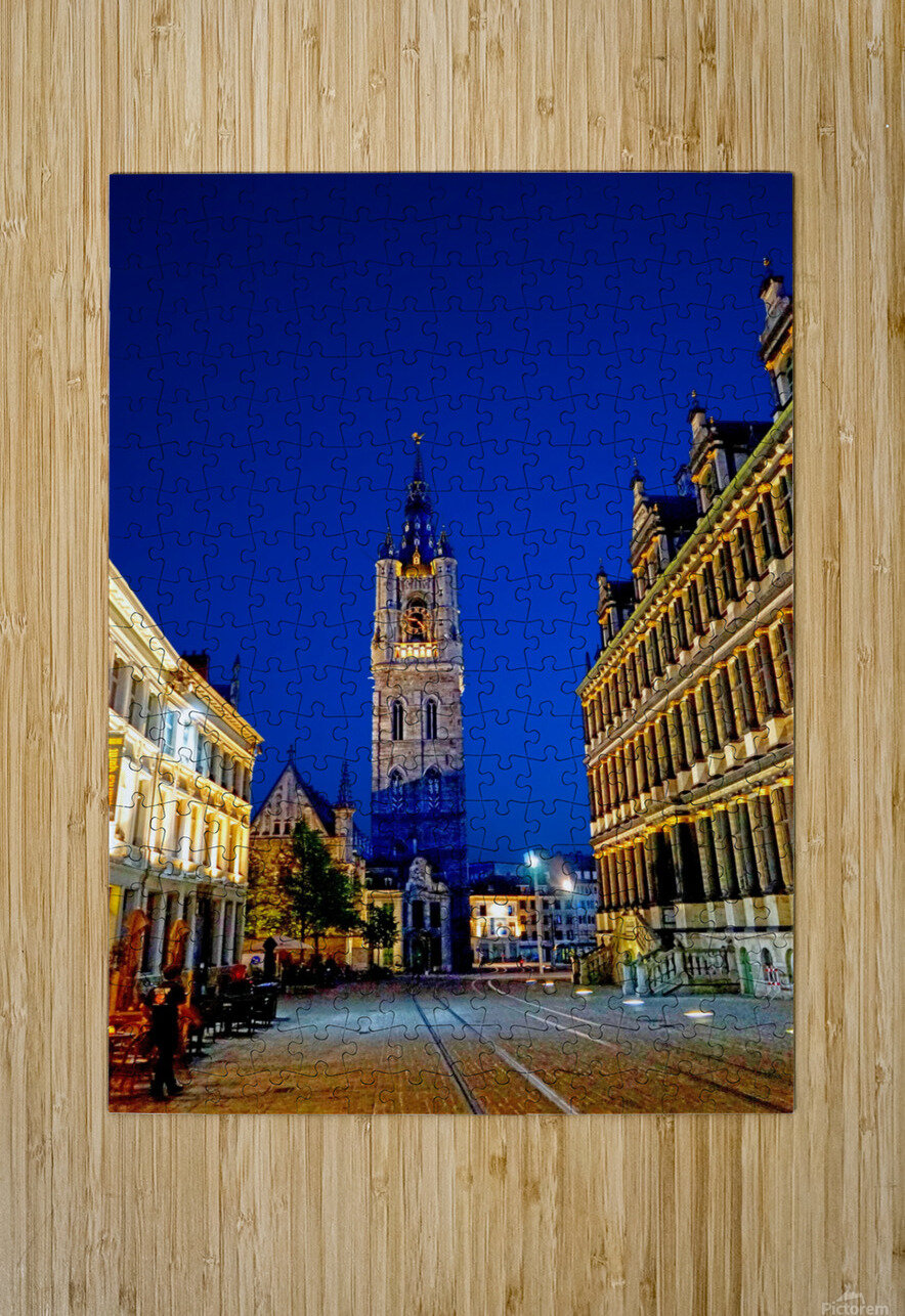 Beautiful Belgium 4 of 7  HD Metal print with Floating Frame on Back