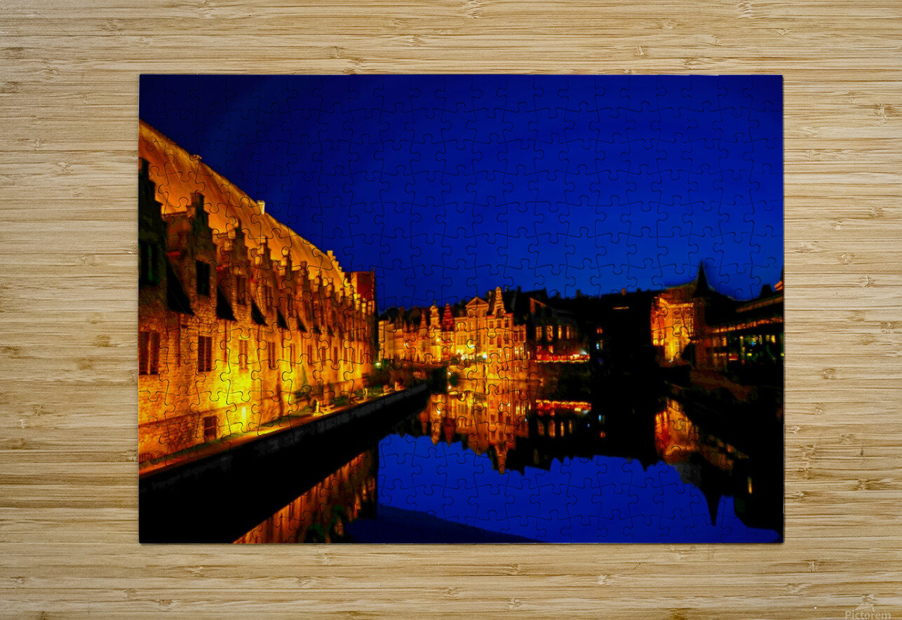 Beautiful Belgium 5 of 7  HD Metal print with Floating Frame on Back