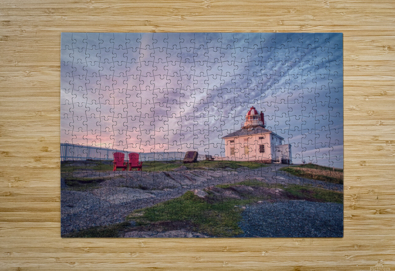 Cape Spear Sunrise  HD Metal print with Floating Frame on Back