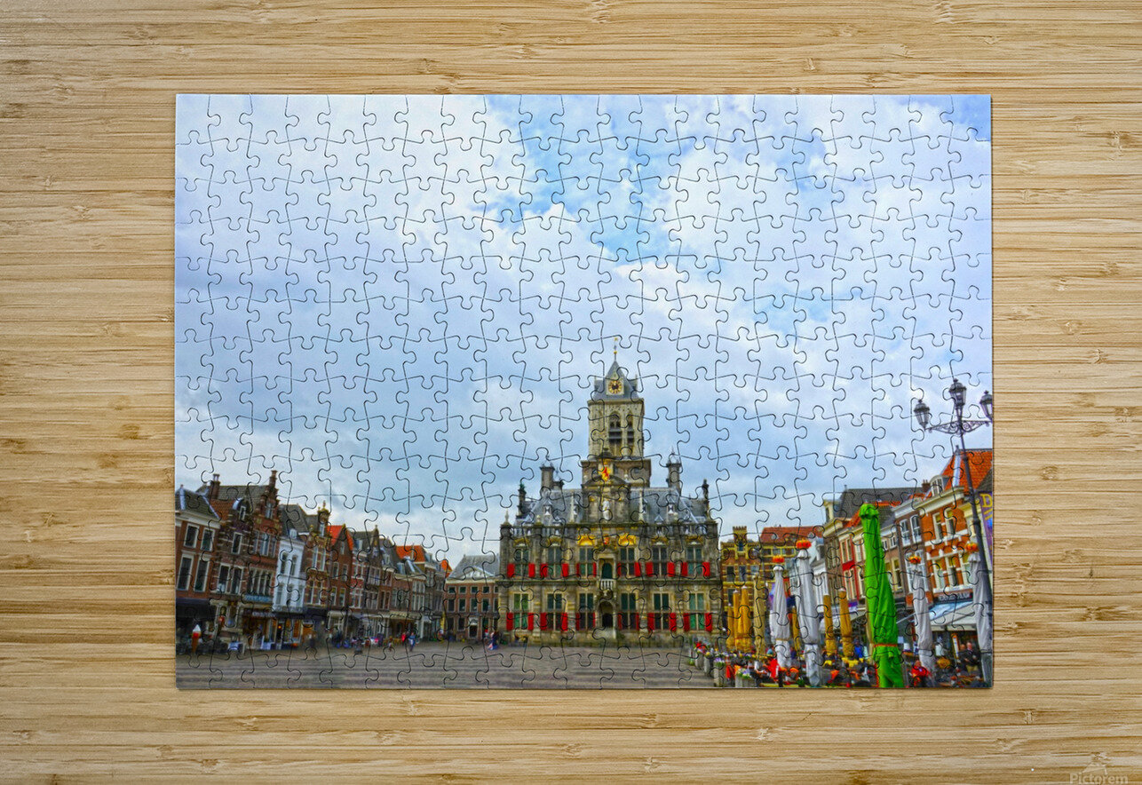 A Dream of the Netherlands 2 of 4  HD Metal print with Floating Frame on Back
