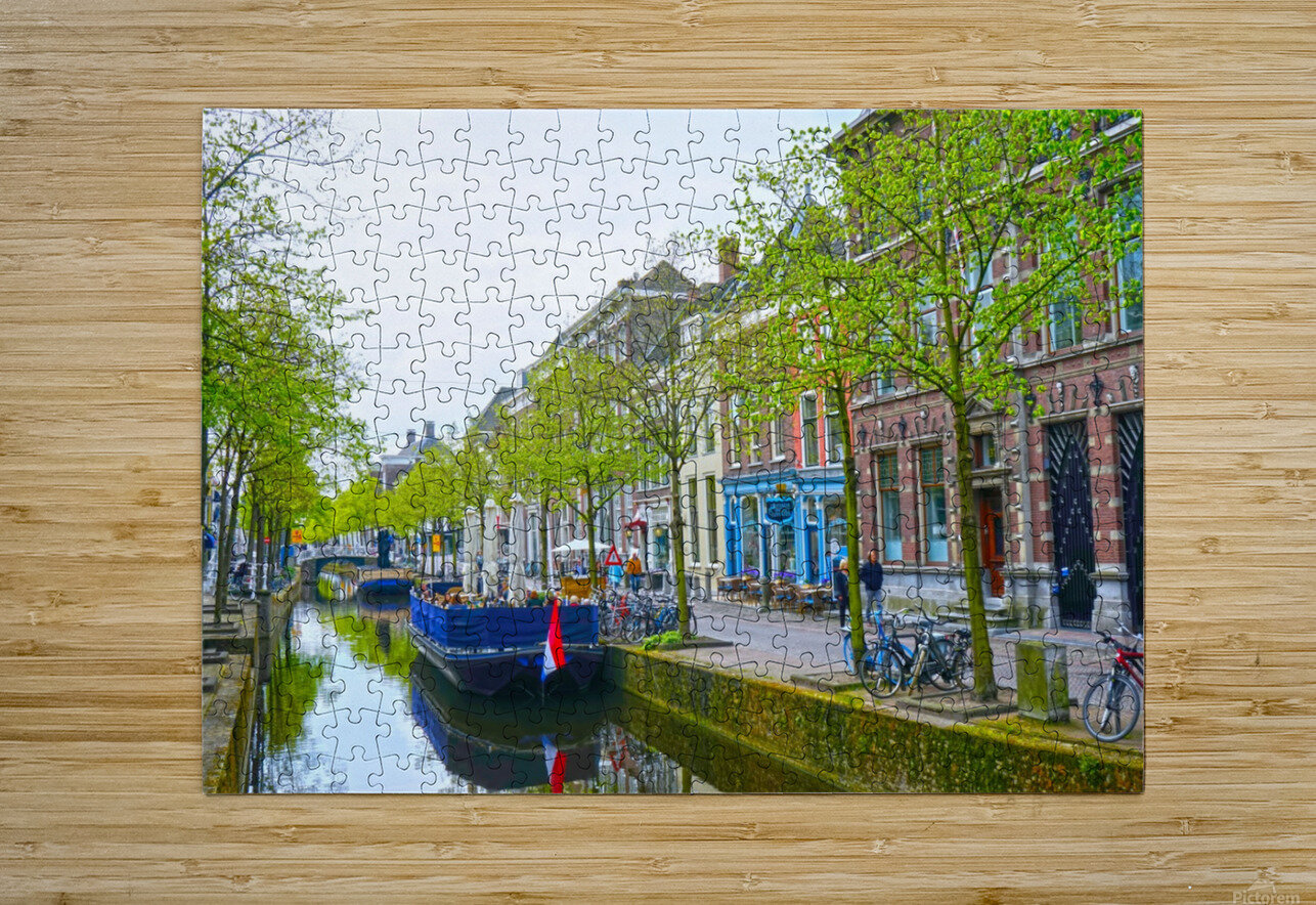 A Dream of the Netherlands 3 of 4  HD Metal print with Floating Frame on Back