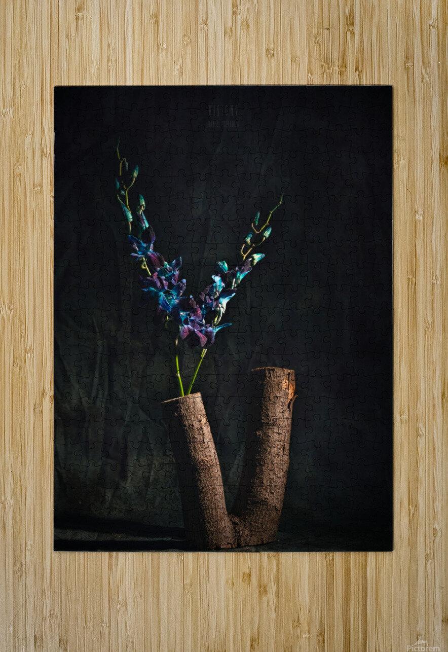 Fleur doiseau  HD Metal print with Floating Frame on Back