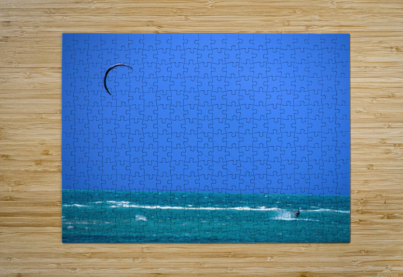 Wind Surf Hawaii  HD Metal print with Floating Frame on Back