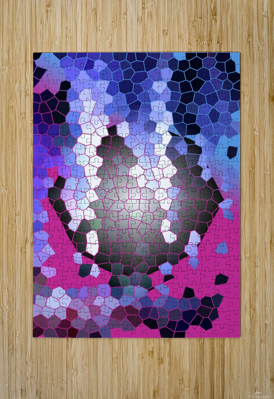 CELL 001  HD Metal print with Floating Frame on Back