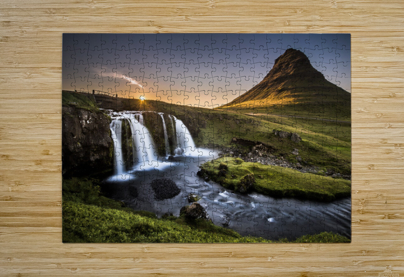 Fairy-Tale Country  HD Metal print with Floating Frame on Back