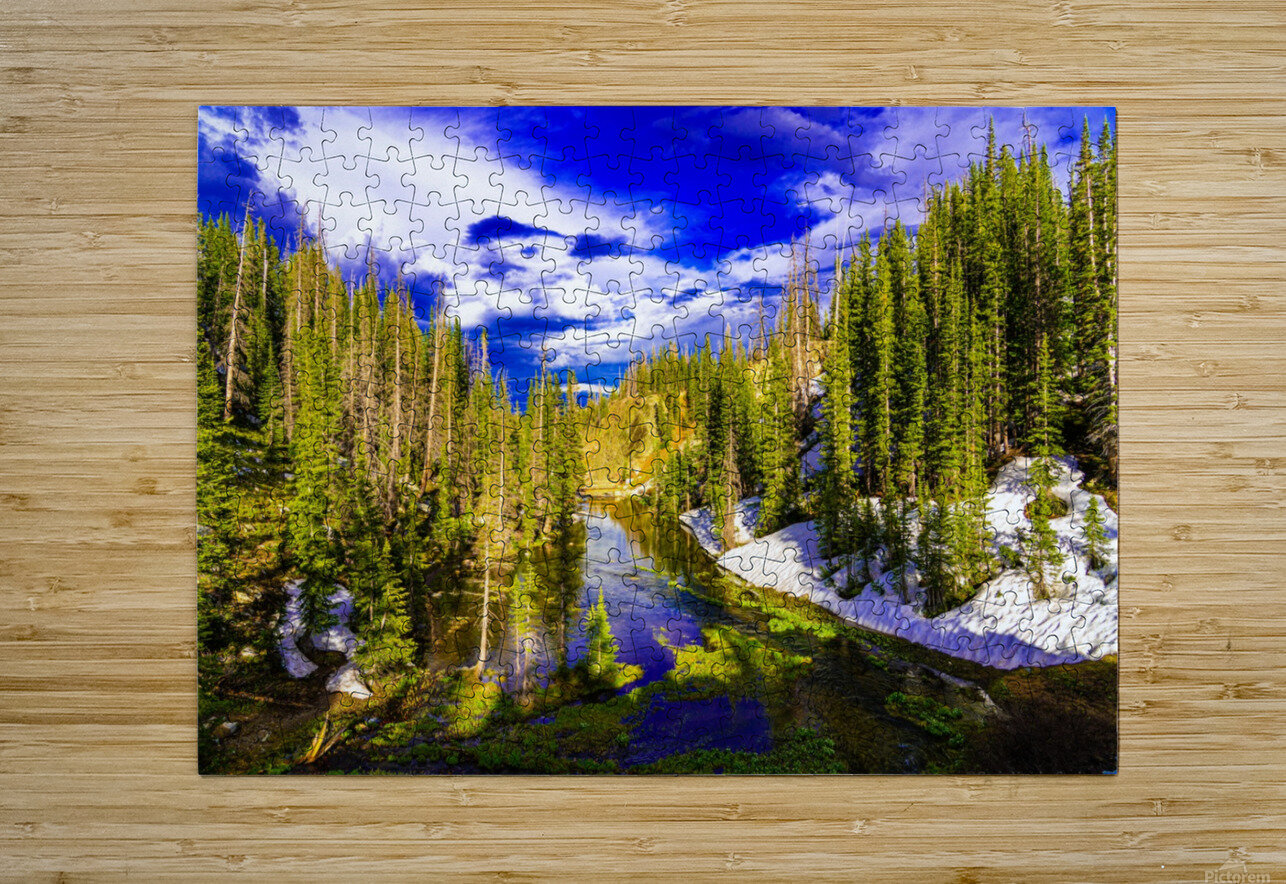 DSC00906  HD Metal print with Floating Frame on Back