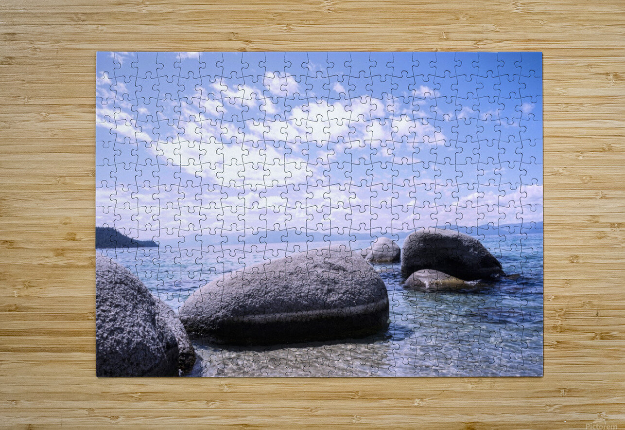 Standing Stones  HD Metal print with Floating Frame on Back