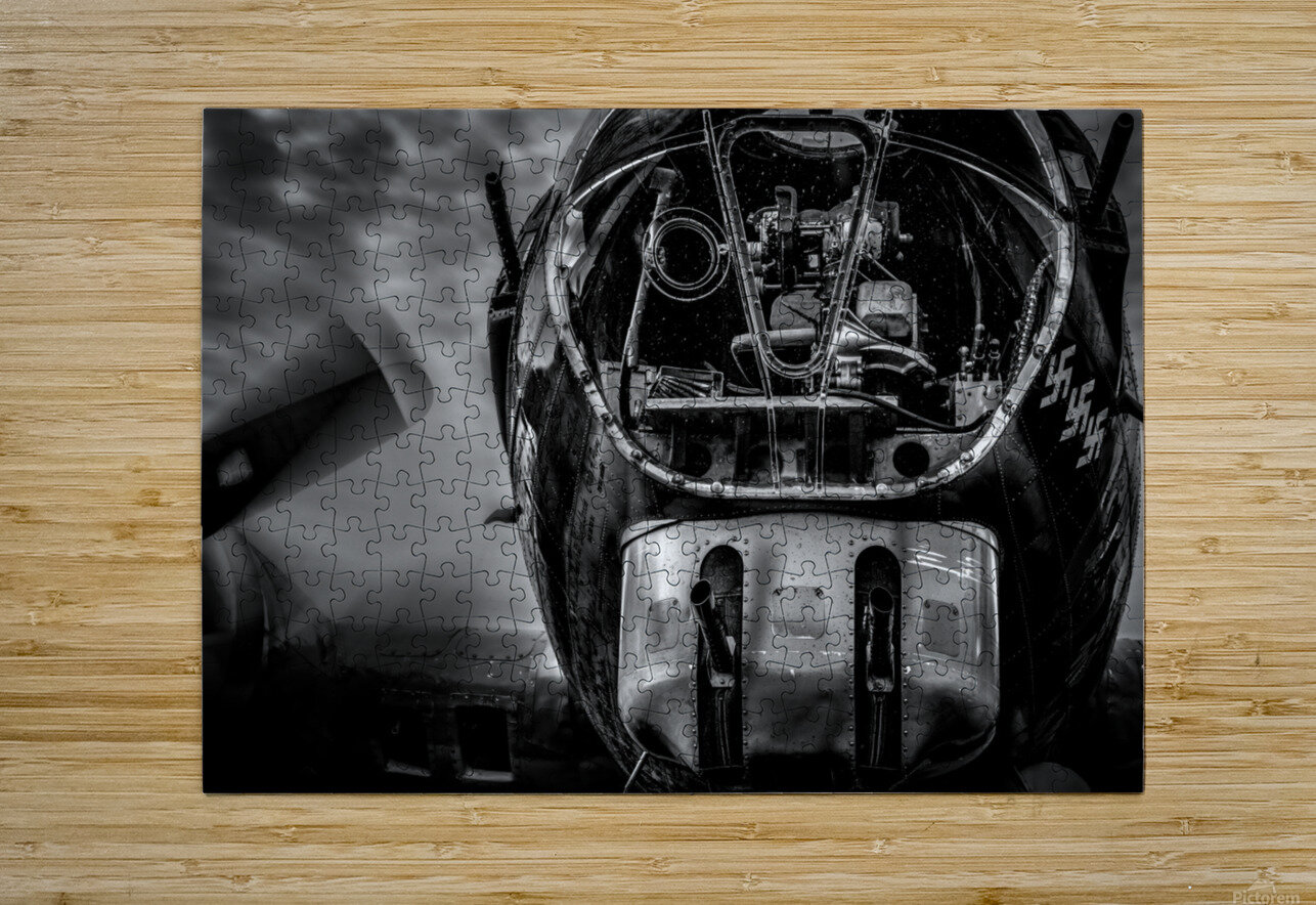 B17 Flying Fortress  HD Metal print with Floating Frame on Back