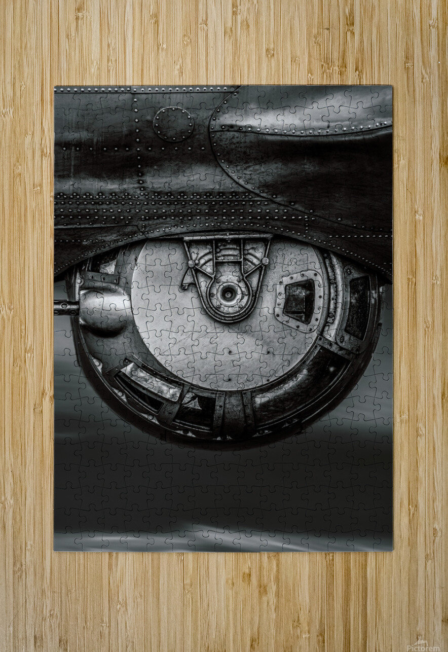 Ball Turret  HD Metal print with Floating Frame on Back