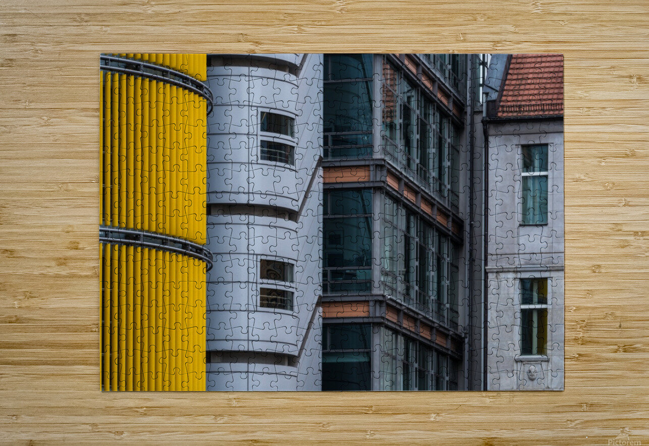 Opposite attraction III by Benjamin Brosdau   HD Metal print with Floating Frame on Back
