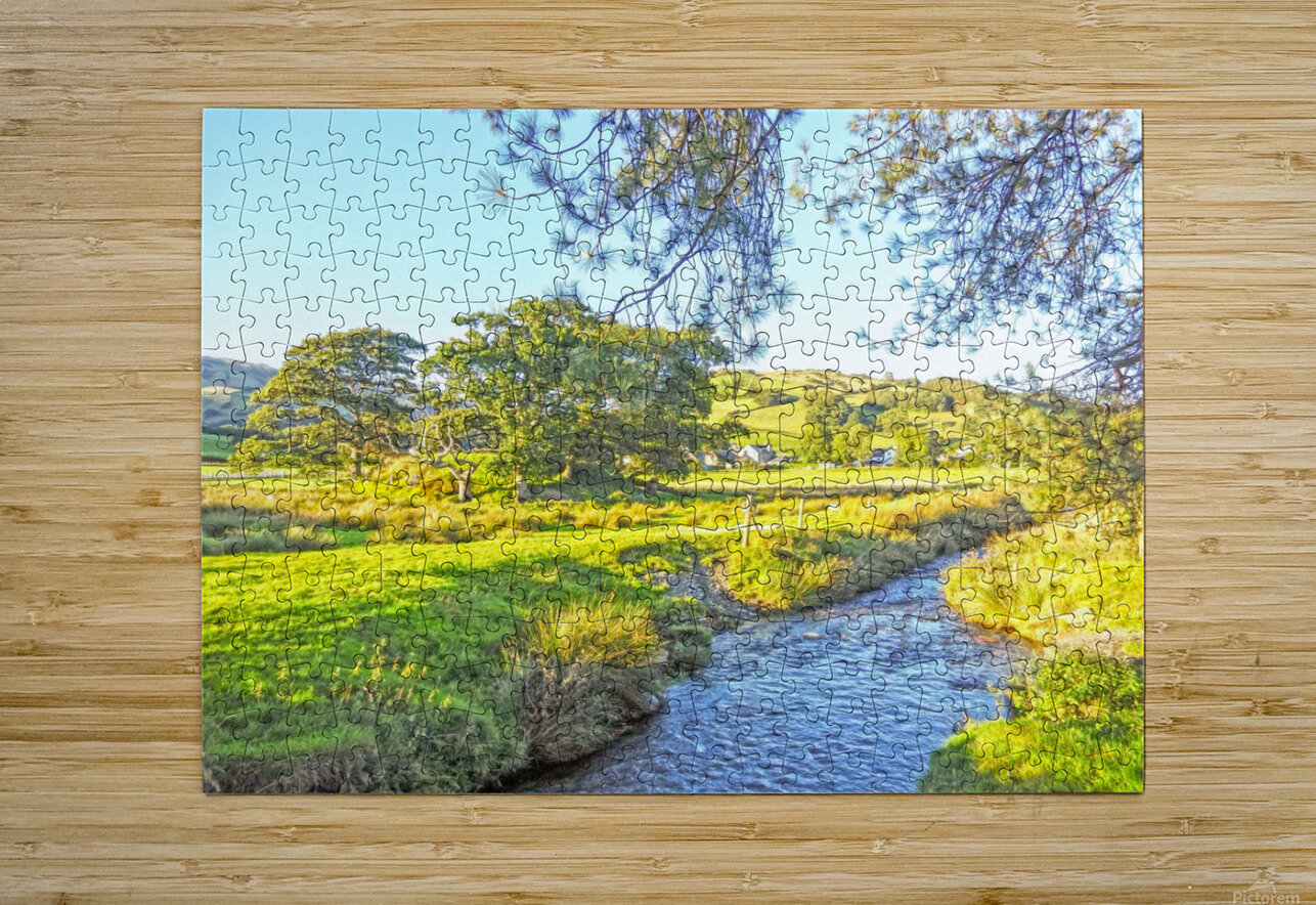 One Day in Wales 3 of 5  HD Metal print with Floating Frame on Back