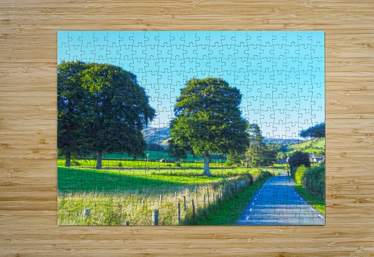 One Day in Wales 1 of 5  HD Metal print with Floating Frame on Back