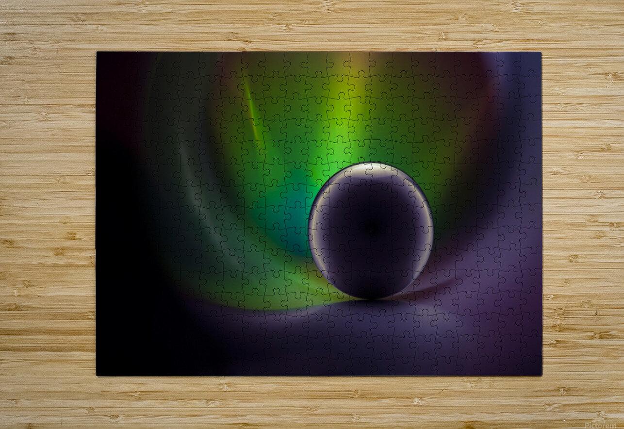 Dragon Ball by Raffaele Spettoli   HD Metal print with Floating Frame on Back