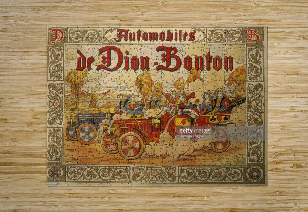 Dion Bouton  HD Metal print with Floating Frame on Back