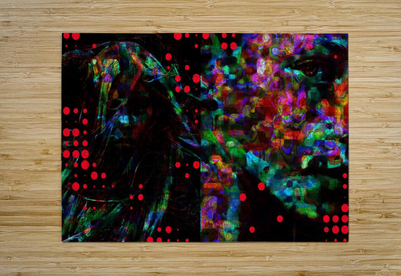 Zara life   HD Metal print with Floating Frame on Back