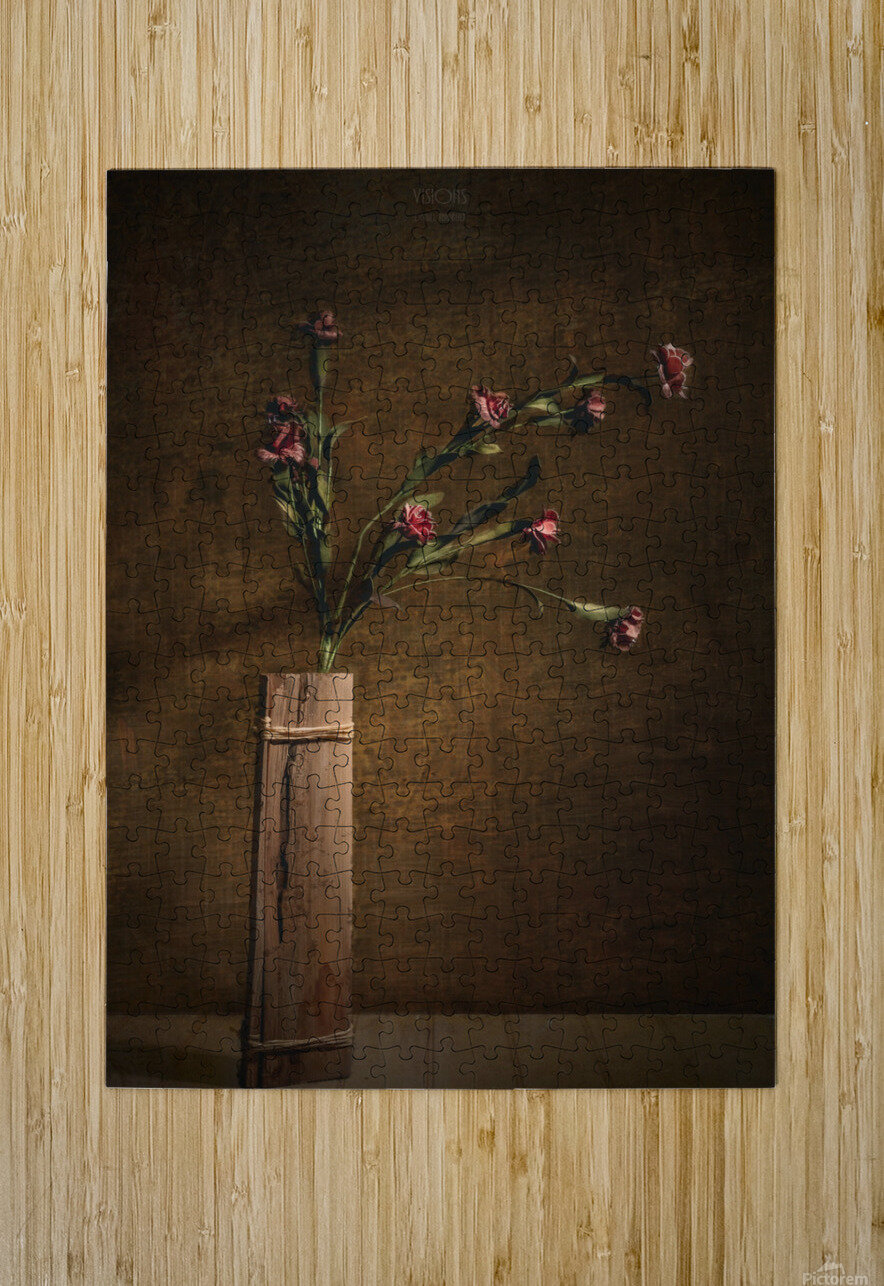 Etude Zen 7a  HD Metal print with Floating Frame on Back