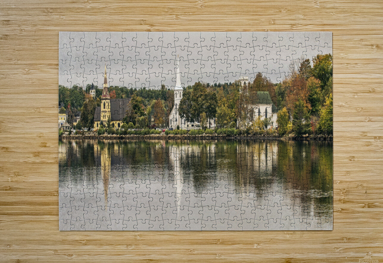 Mohane Bay Nova Scotia  HD Metal print with Floating Frame on Back