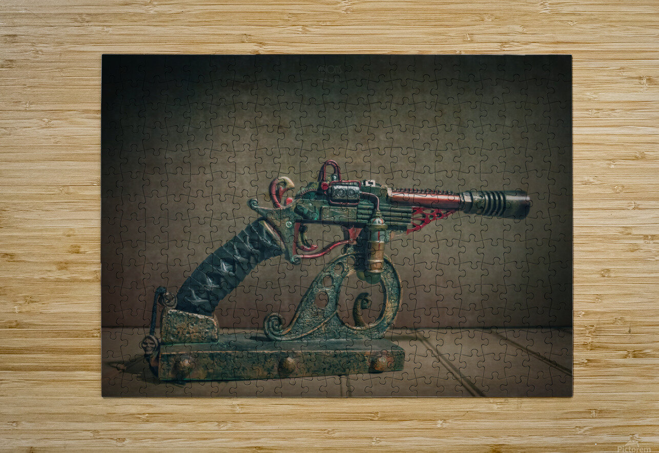 Steampunk 2  HD Metal print with Floating Frame on Back