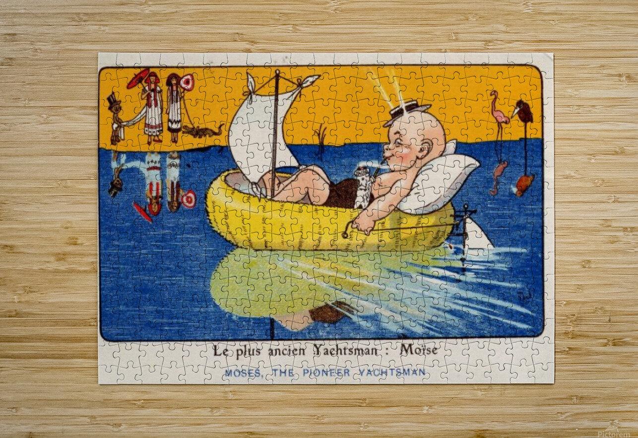 Le Plus Ancien Yachtsman Vintage Poster