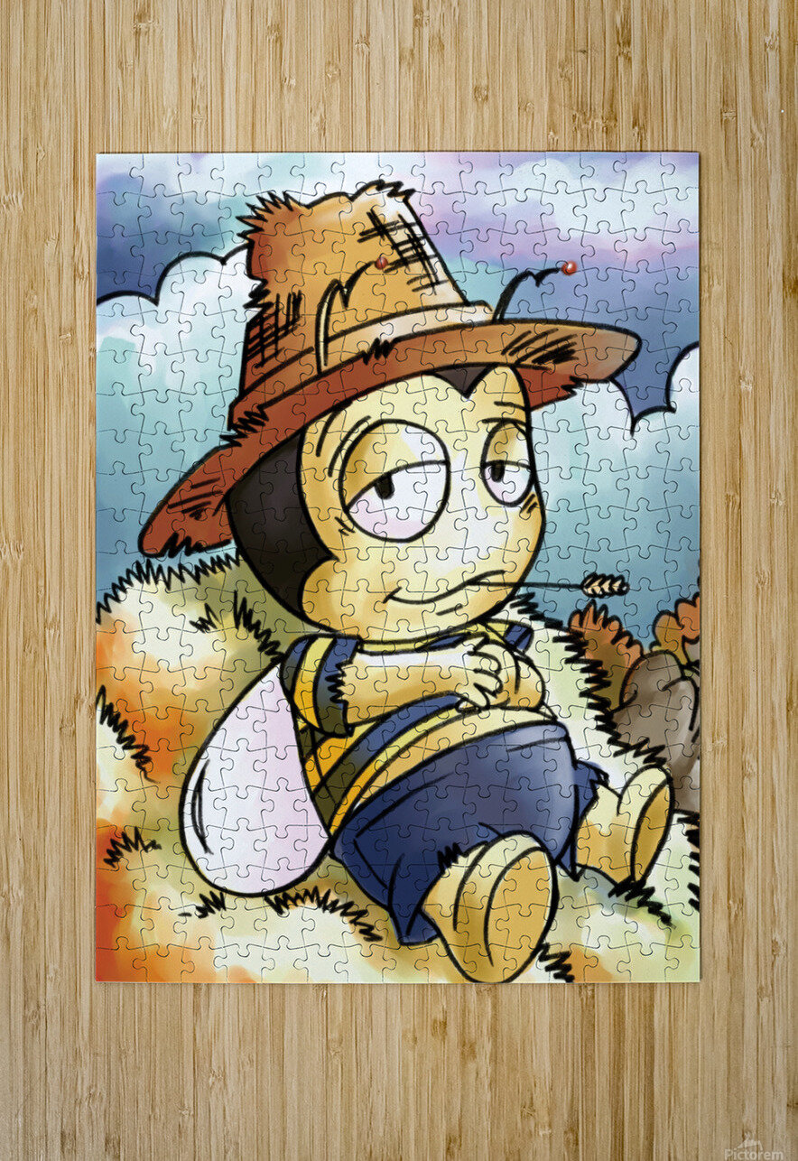 Its Country Buster  HD Metal print with Floating Frame on Back