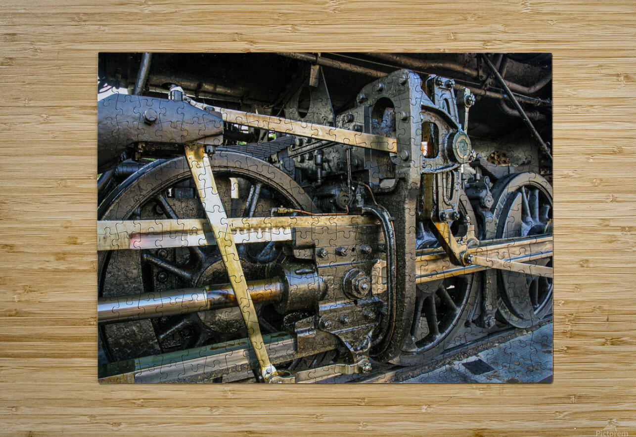 Strasburg 16  HD Metal print with Floating Frame on Back