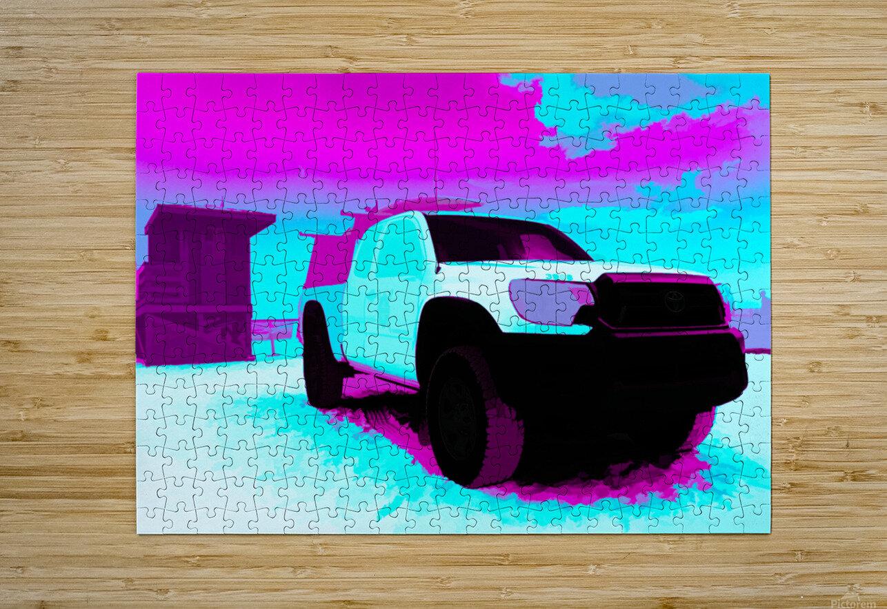 beach patrol 5  HD Metal print with Floating Frame on Back