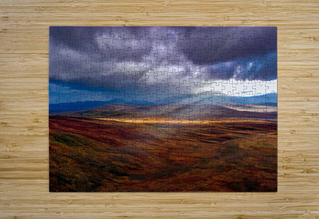Donegal 27  HD Metal print with Floating Frame on Back