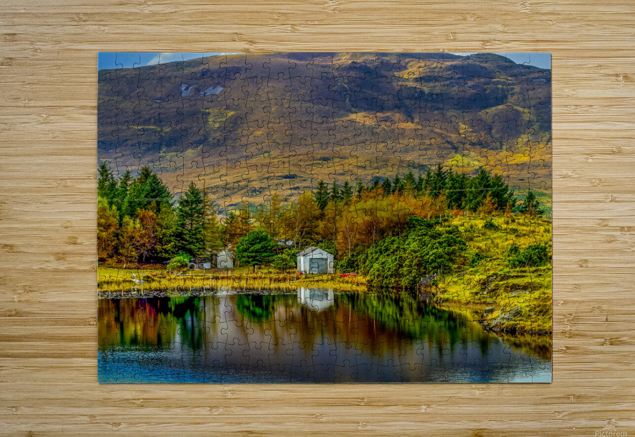 Donegal 13  HD Metal print with Floating Frame on Back