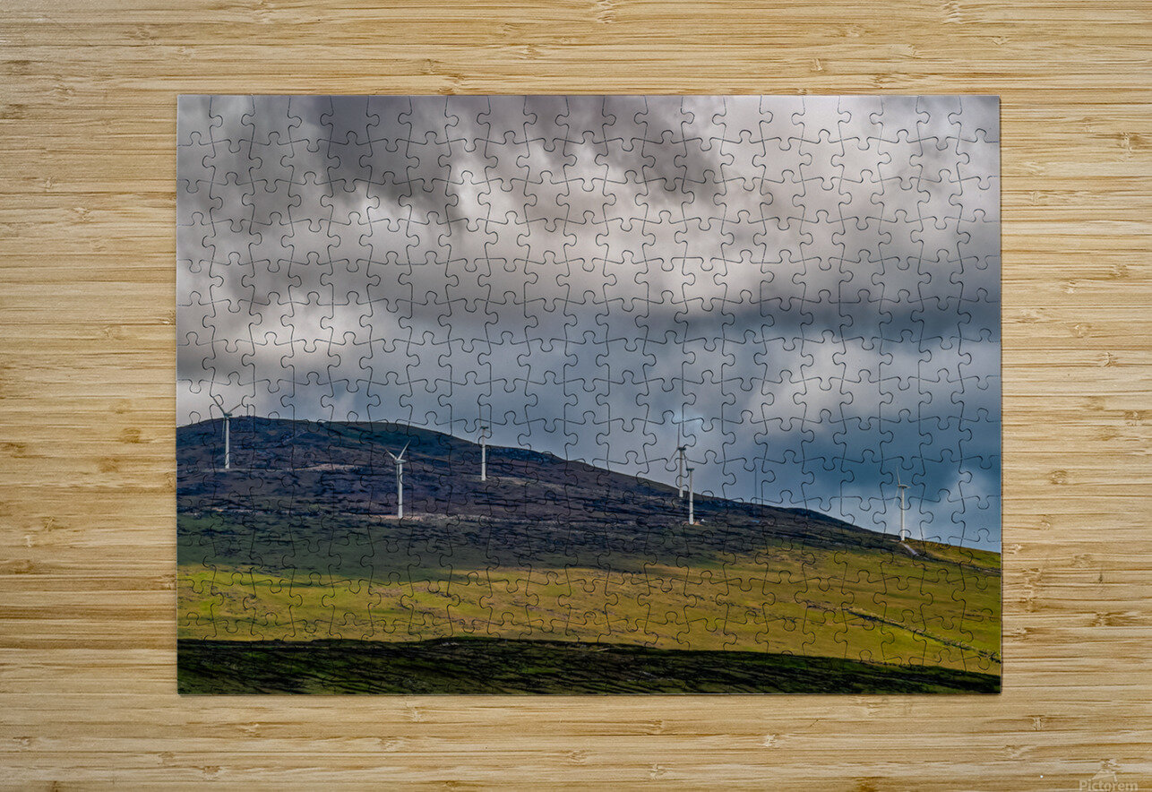 Donegal 30  HD Metal print with Floating Frame on Back