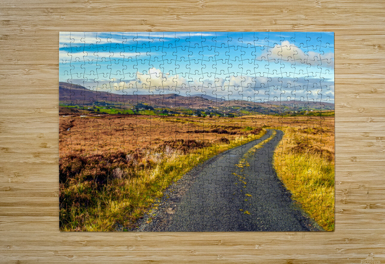 Donegal 11  HD Metal print with Floating Frame on Back