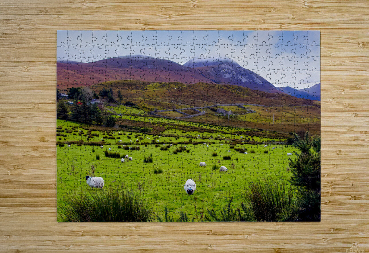 Donegal 10  HD Metal print with Floating Frame on Back