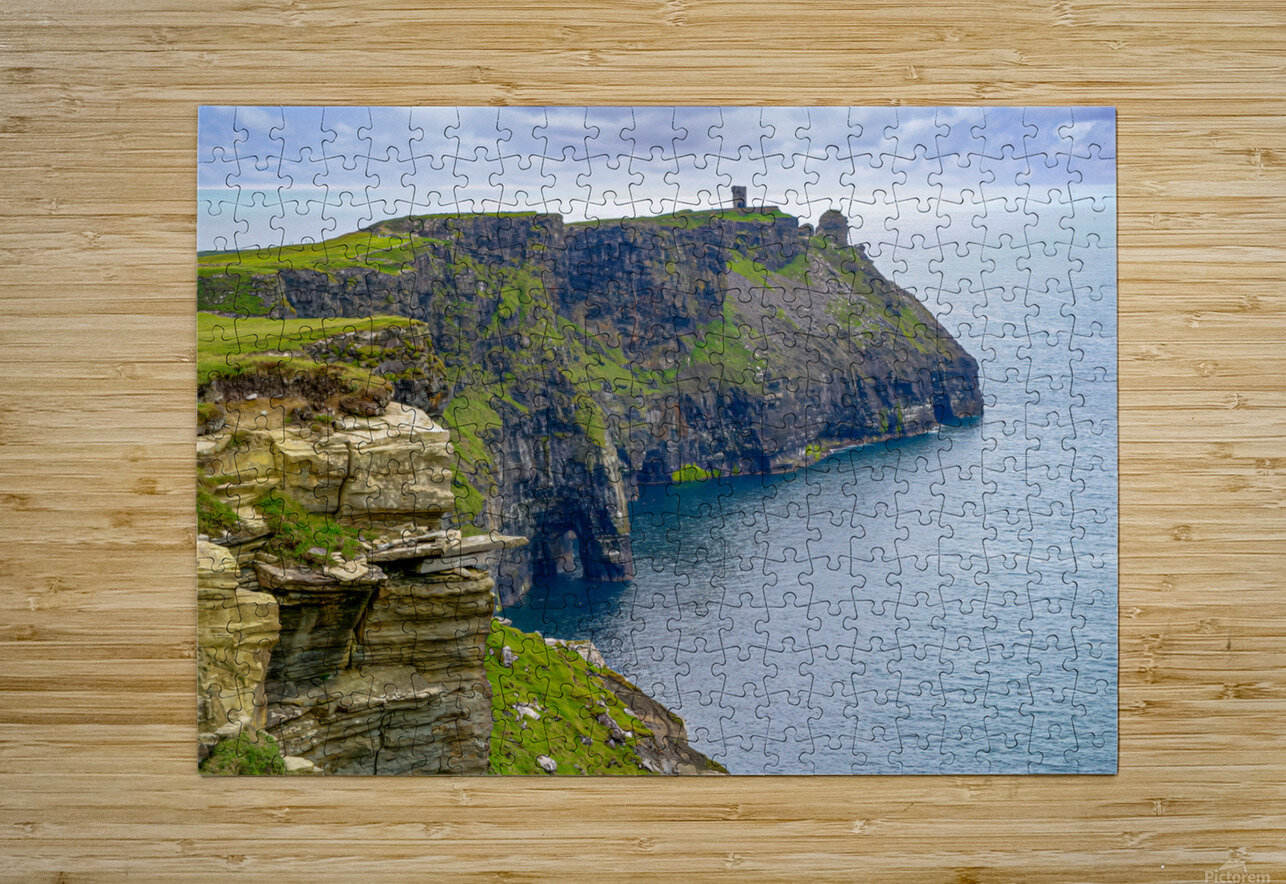 Cliffs Of Moher 4  HD Metal print with Floating Frame on Back
