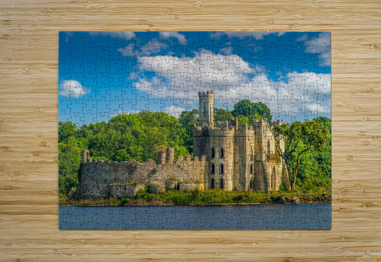 McDermott s Castle Ruins  HD Metal print with Floating Frame on Back