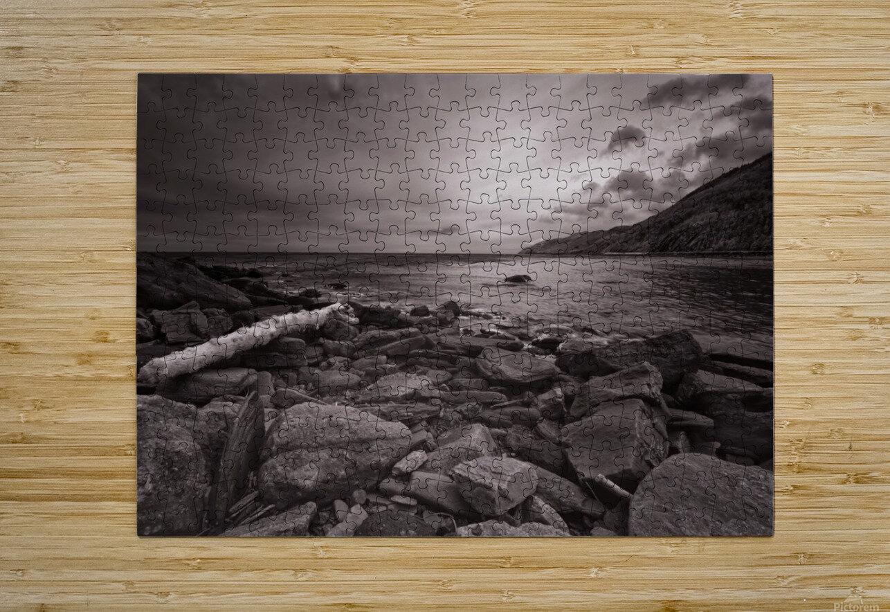 La Bloc Rocks  HD Metal print with Floating Frame on Back