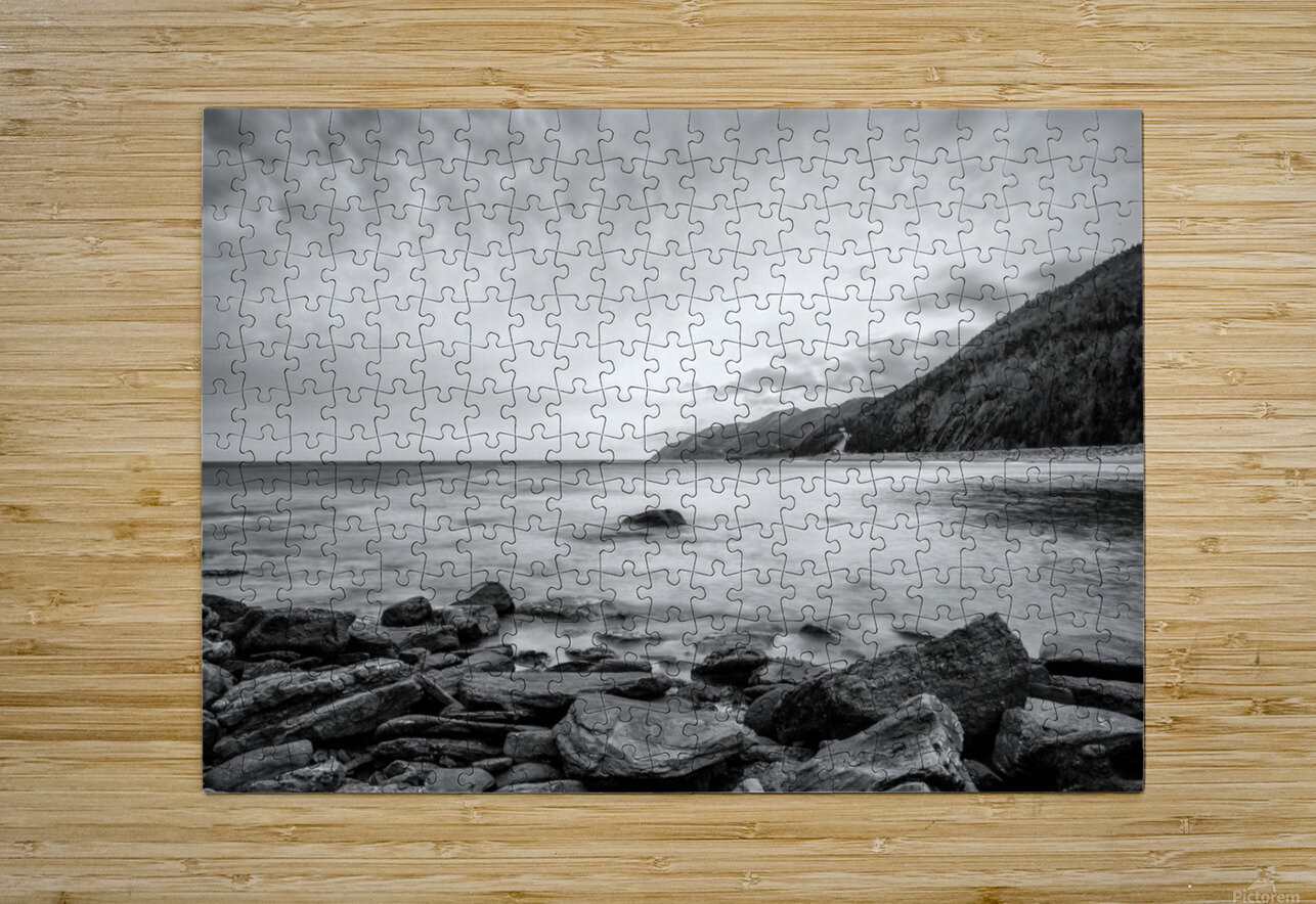 Serenity Waters  HD Metal print with Floating Frame on Back