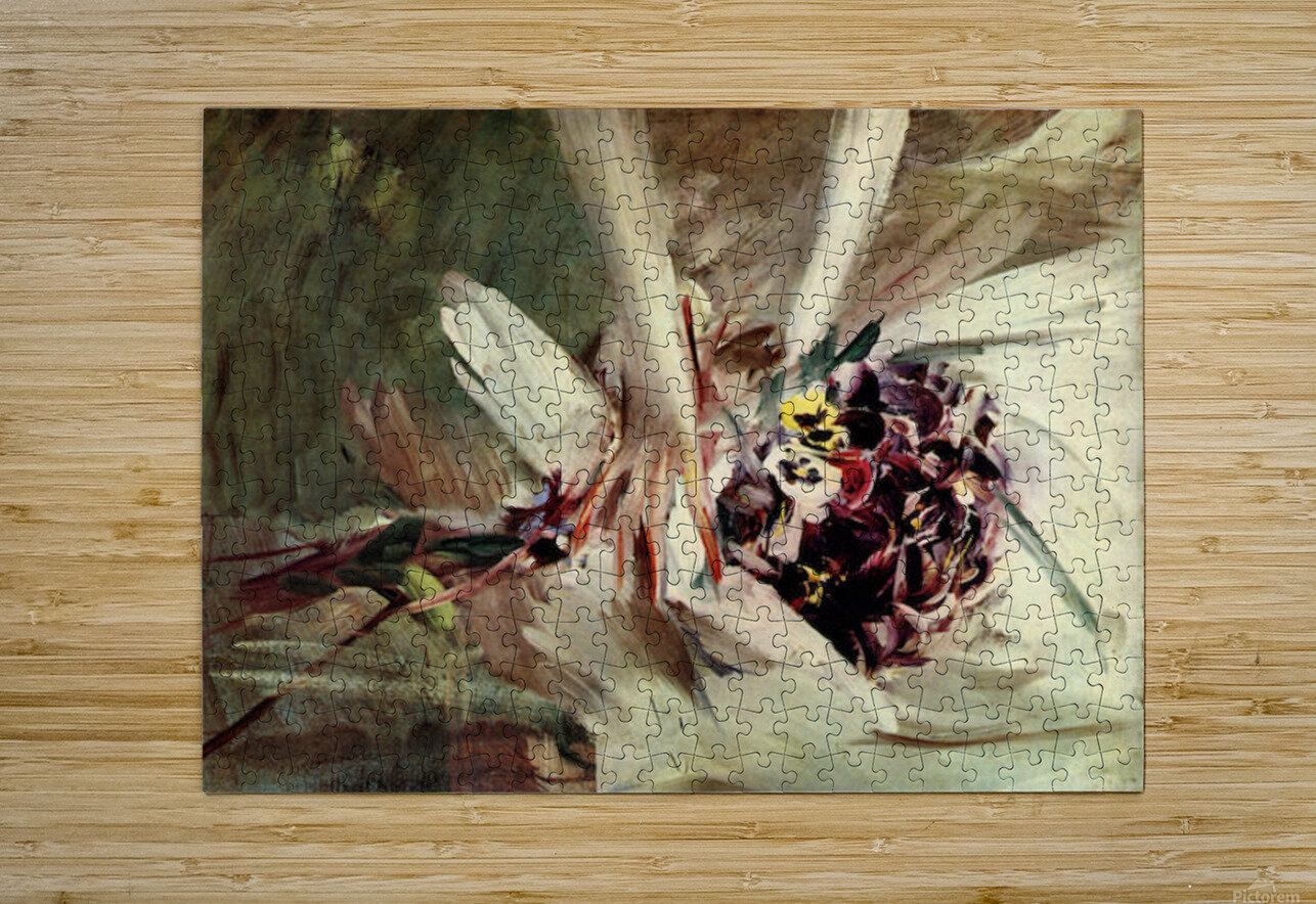 The Pansy by Giovanni Boldini  HD Metal print with Floating Frame on Back