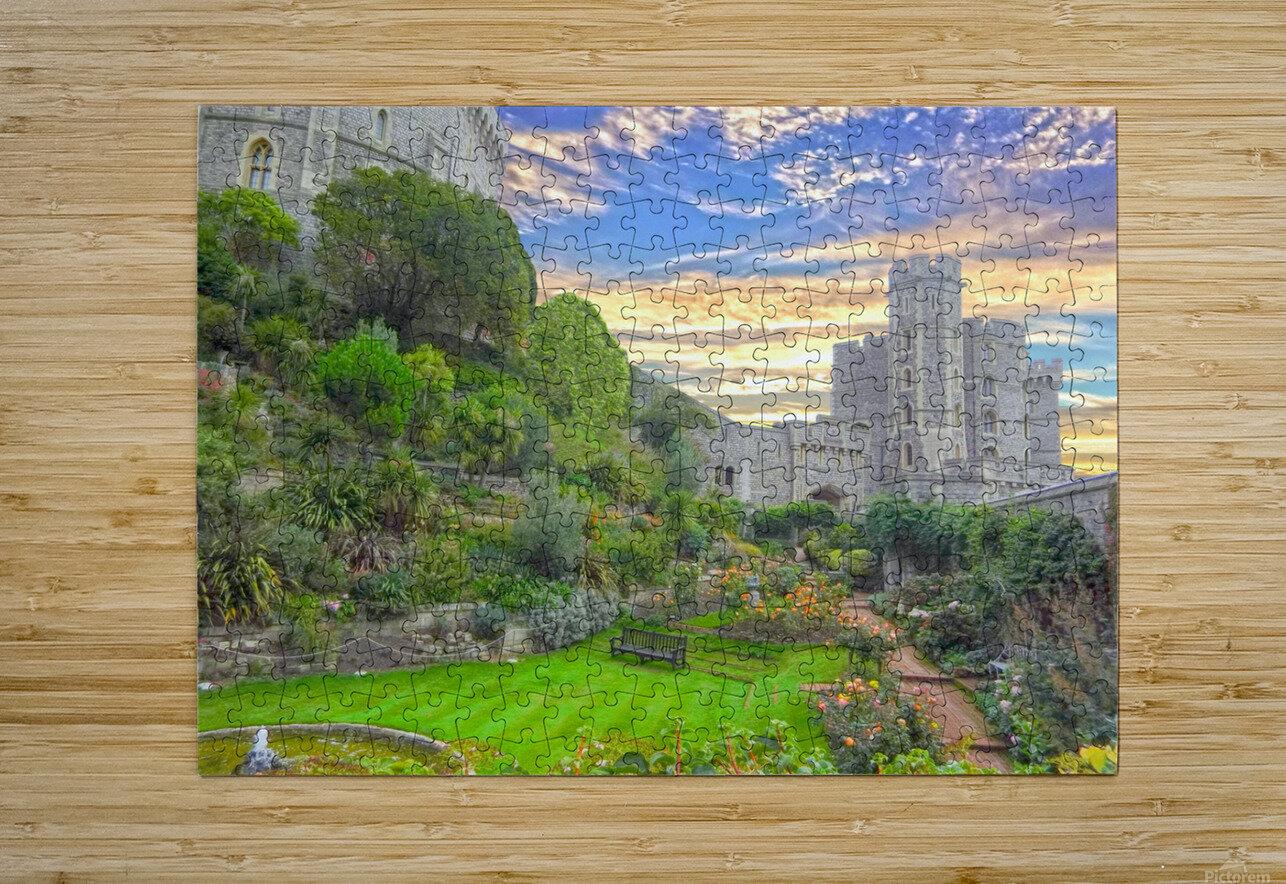 Windsor Castle England 1 of 2  HD Metal print with Floating Frame on Back