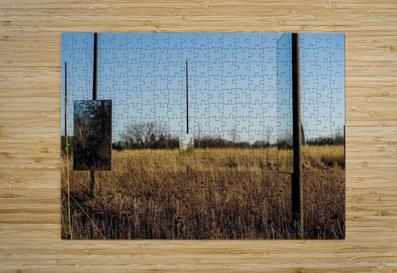 Mirror Mirror  HD Metal print with Floating Frame on Back