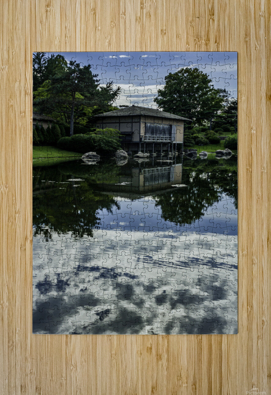 Reflections  HD Metal print with Floating Frame on Back