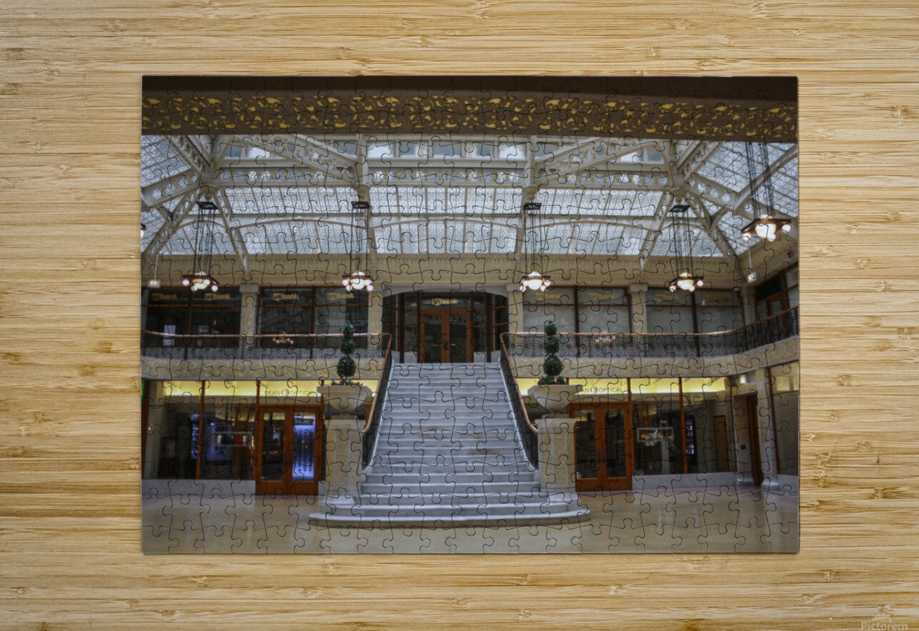 The Rookery  HD Metal print with Floating Frame on Back