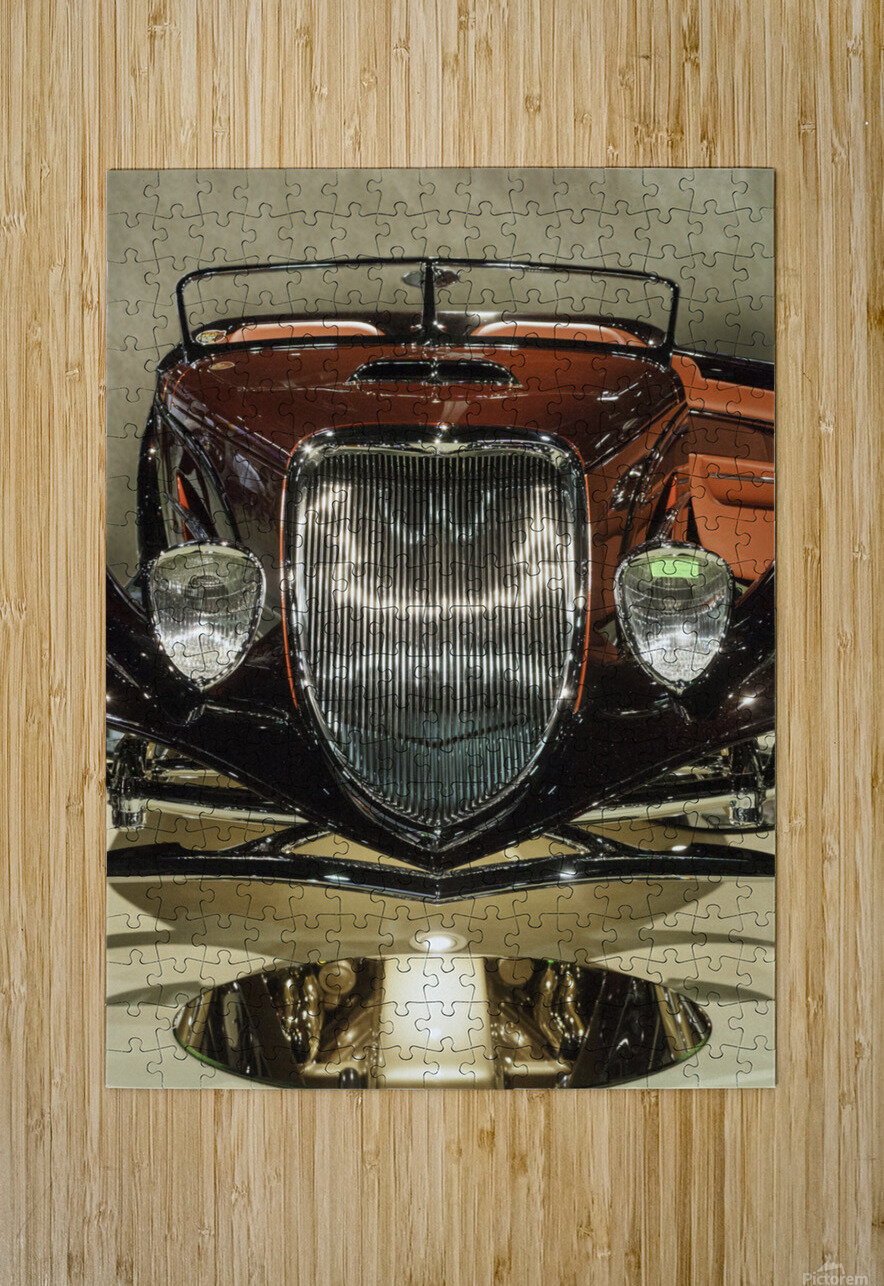 1932 Ford  HD Metal print with Floating Frame on Back