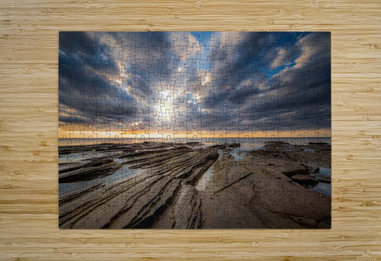 The Glory  HD Metal print with Floating Frame on Back