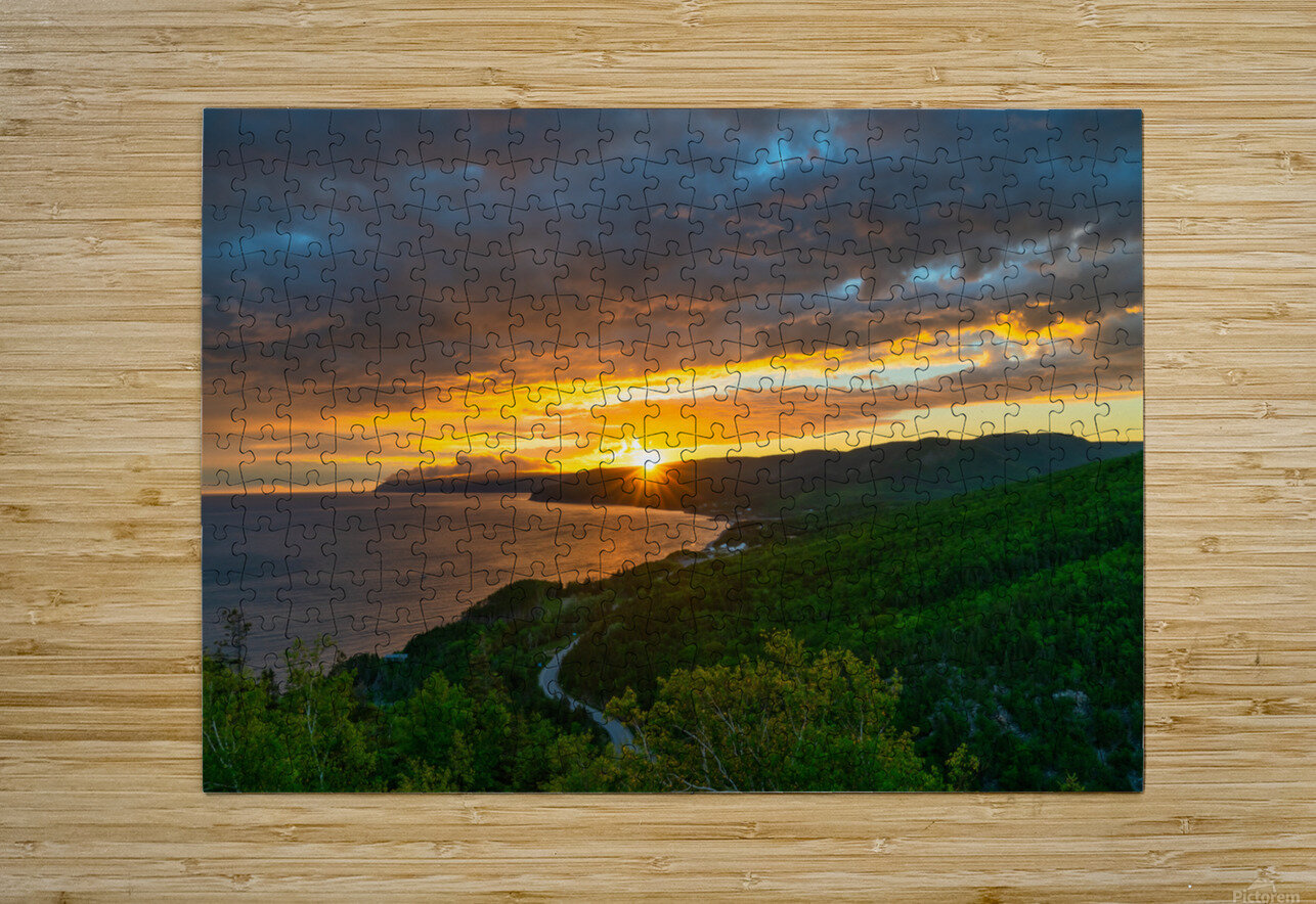 Good Morning Pleasant Bay  HD Metal print with Floating Frame on Back