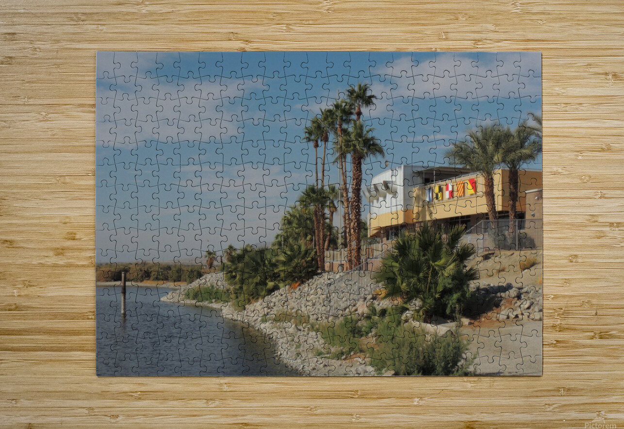 North Shore Beach & Yacht Club  HD Metal print with Floating Frame on Back