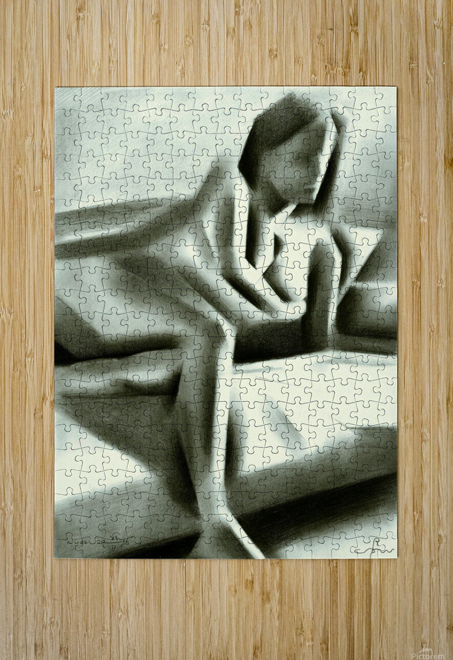Nude - 23-01-16  HD Metal print with Floating Frame on Back