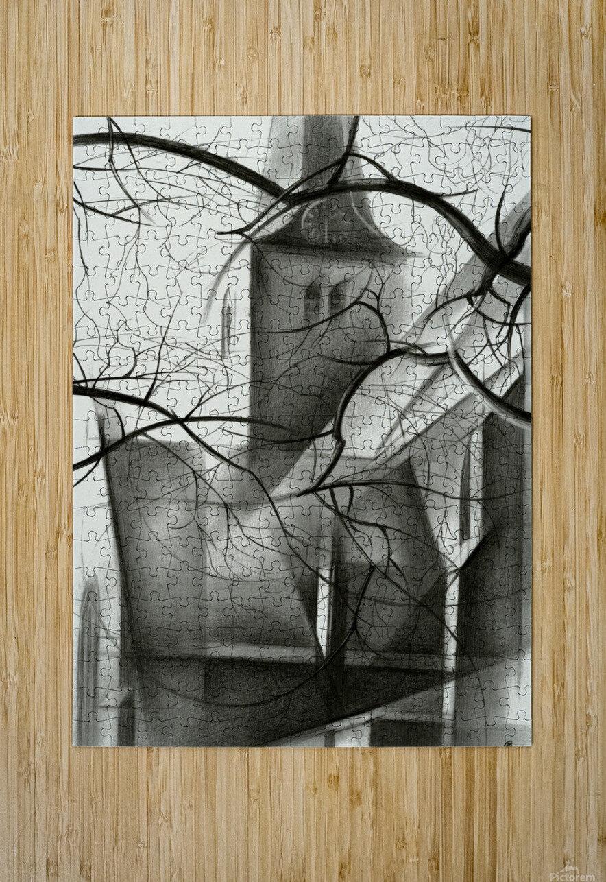 Rijswijk - 04-12-15  HD Metal print with Floating Frame on Back