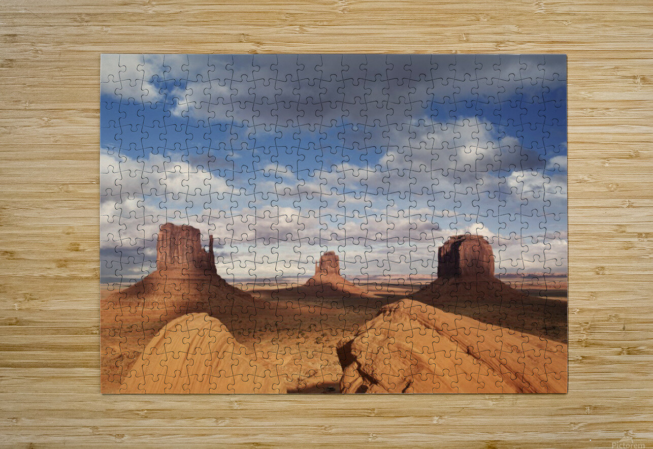 Monument valley 2  HD Metal print with Floating Frame on Back