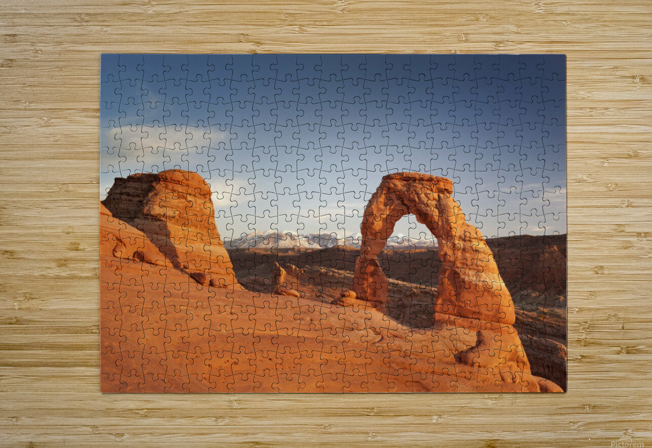 Arches National Park 1  HD Metal print with Floating Frame on Back